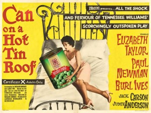 Can on a Hot Tin Roof